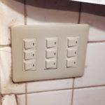 電源スイッチ動作不良交換
